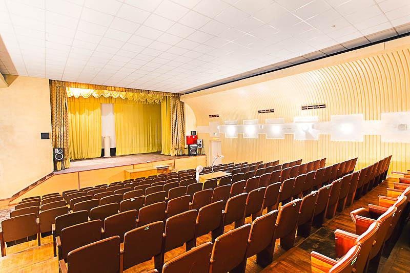 Фотография концертного зала санатория Целебный Ключ