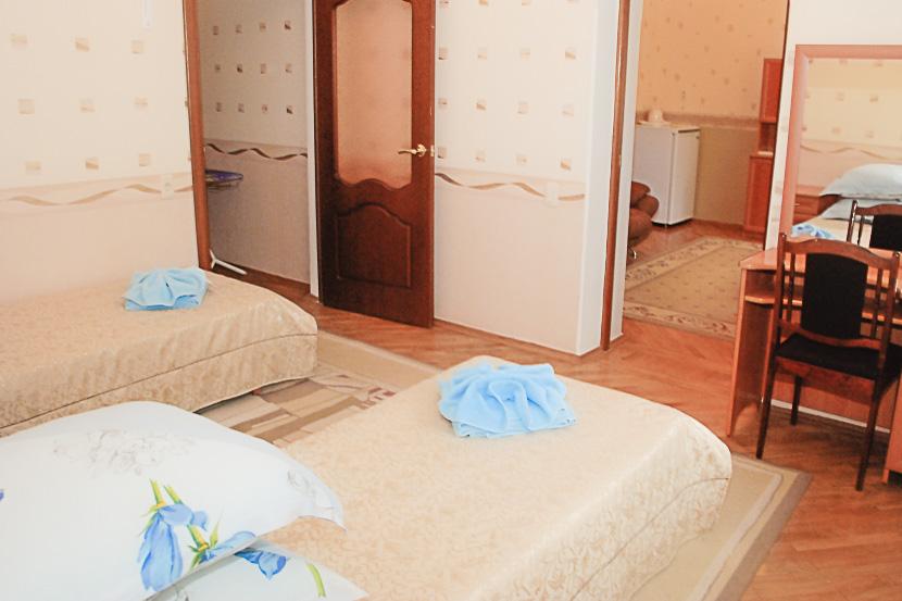Фотография кроватей номера Люкс